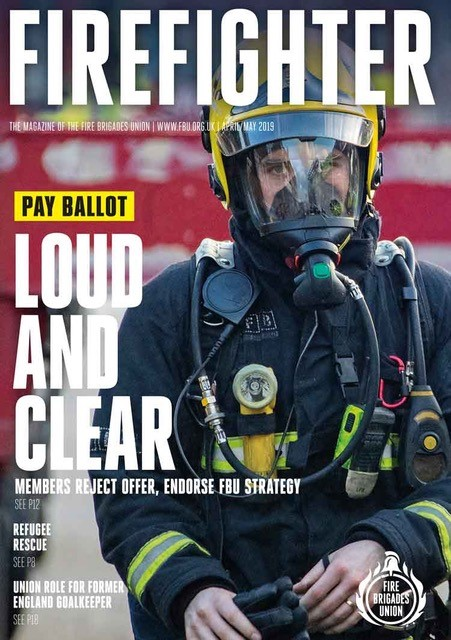 Firefighter April/May 2019 front cover